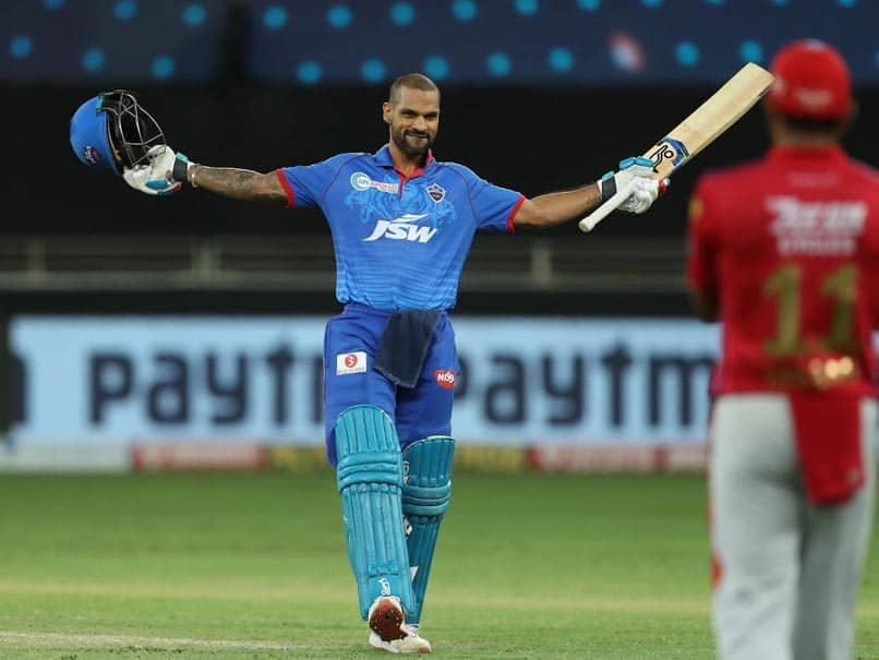 IPL 2020, KXIP vs DC: Shikhar Dhawan Becomes First Batsman To Score Back-To-Back Hundreds In IPL