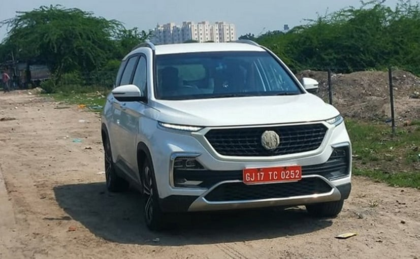 Spy images of MG Hector facelift without camouflage have already surfaced online.