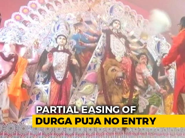 Video : Calcutta High Court's Puja Pandal 'No-Entry Zone' Order Partially Eased