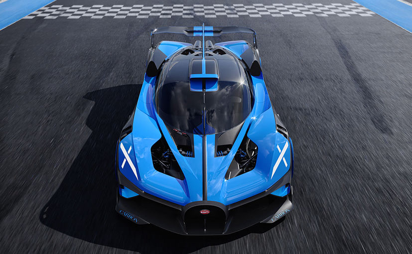 The hypercar is built on the same platform as the Chiron