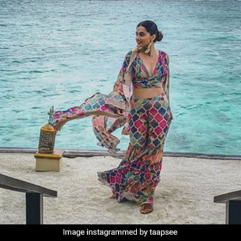 Taapsee Pannu's Holiday Comes To An End, But Her Style Is Here To Stay