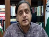 Video : People Attempting To Partition Indian Soul: Shashi Tharoor To NDTV