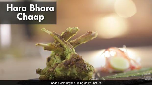 Watch: How To Make Easy Hara Bhara Mutton Chaap Snack For Your House Party