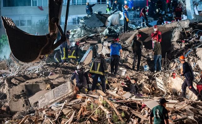 22 Dead, Buildings Collapse As Major Earthquake Hits Turkey, Greece