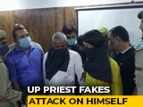 Video : UP Priest Faked Attack On Himself With Hired Gunman To Frame Rival: Cops