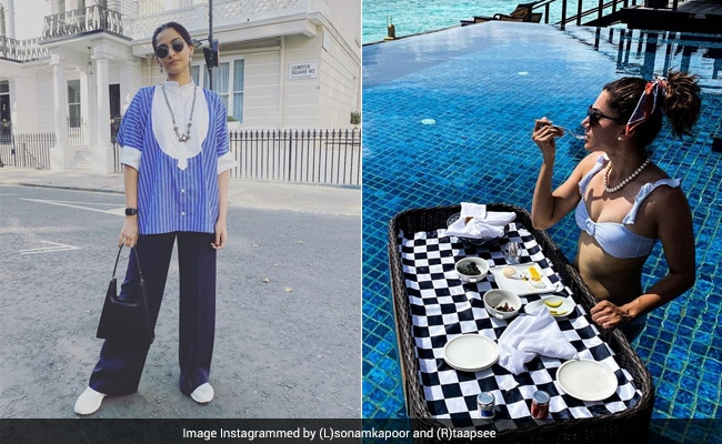 Image Taapsee To Sonam: These Celebrity Vacation Pics May Give You Major FOMO