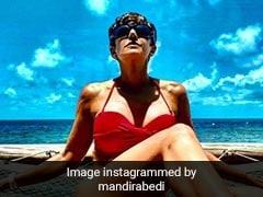मंदिरा बेदी मालदीव में एंजॉय करती आईं नजर, Photos में दिखा एक्ट्रेस का यह अंदाज