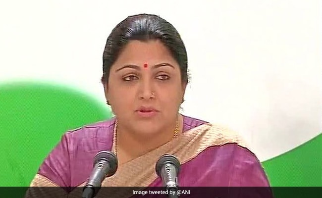 'Good And Happy Step': AIADMK On Kushboo Sundar Joining BJP