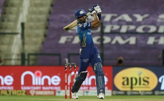 Hardik Pandyas last 12 balls: 52 runs, seven sixes, two fours Watch video RR vs MI IPL 2020