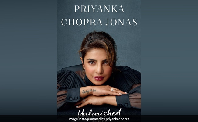 Priyanka Chopra Unveils Cover Of Her Memoir Unfinished: 'My Life Is Not A Fairytale'