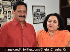 BJP Names Chetan Chauhan's Wife As Candidate For UP Assembly Bypoll