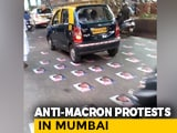 Video : After Comments On Islam, Posters Of France's Macron Pasted On Mumbai Road