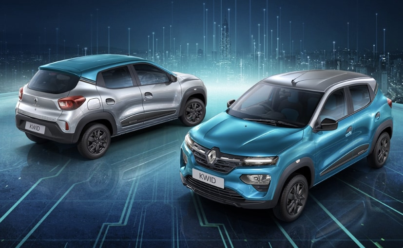 The Renault Kwid Neotech Limited Edition is offered on the range-topping variants