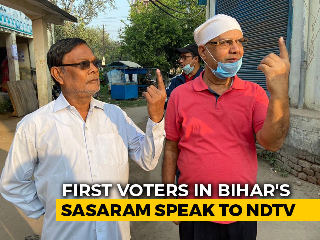 Video: 'Need A Young, Energetic Leader': Early Voters In Bihar's Sasaram