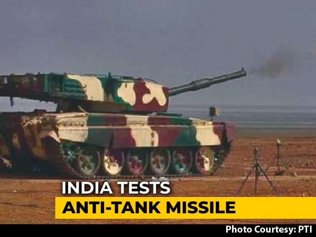 Video : DRDO Successfully Test Fires Laser-Guided Anti-Tank Guided Missile