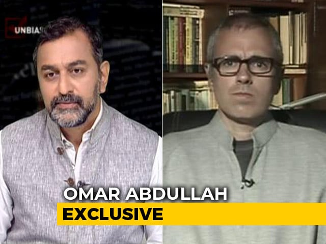 """Video : """"Turn 4G Connections On If Stage Of Anger In J&K Has Passed"""": Omar Abdullah"""