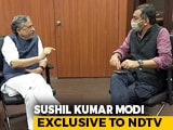 Video : Nitish Kumar To Be Chief Minister Even If BJP Wins More Seats: Sushil Modi