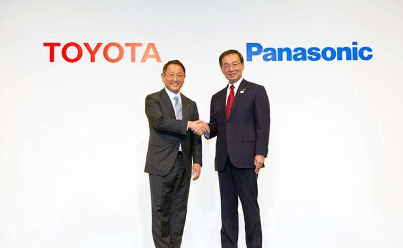 Panasonic's production line in Tokushima can handle batteries for 500,000 electric vehicles a year