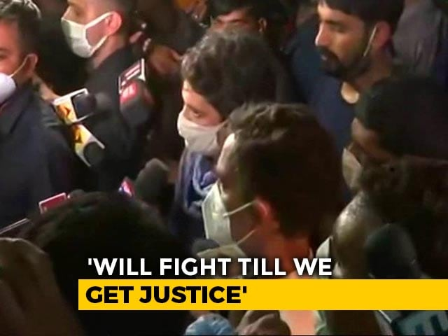 Video : Won't Stop Till Justice Is Served, Says Priyanka Gandhi On Hathras Case