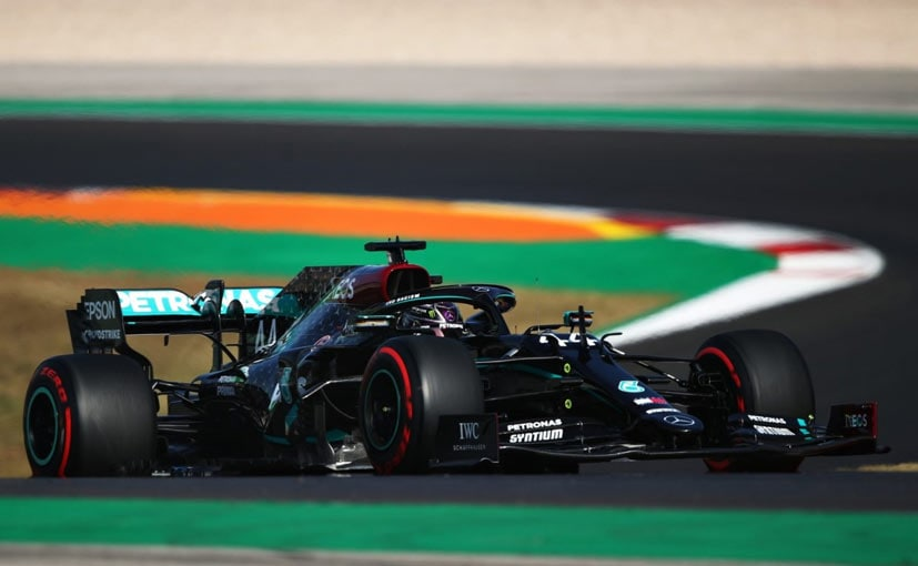 Lewis Hamilton struggled but still managed to pip his teammate for the pole