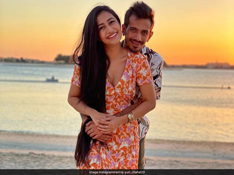"""IPL 2020: Yuzvendra Chahals Loved Up Pic With Fiancee From His """"Perfect Evening"""""""