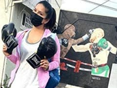 Here's What Sunny Leone Did After Her First Day Of Boxing