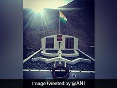 सेना ने गलवान घाटी झड़प में शहीद हुए सैनिकों के सम्मान में लद्दाख में बनाया स्मारक