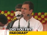 "Video : In Bihar, Rahul Gandhi's <i>""Pakora""</i> Banter With Crowd And Digs At PM Modi"