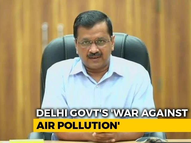 Video: Delhi's 'War Against Air Pollution' Amid Covid: Plans For 13 Hotspots, App