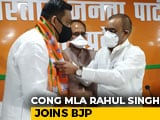 Video : Ahead Of Madhya Pradesh Bypolls, Congress MLA Joins BJP
