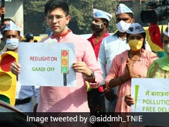 """""""Red Light On, Gaadi Off"""" Anti-Air Pollution Campaign To Start October 21"""