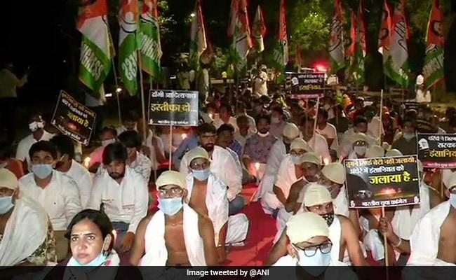 Dressed Like Mahatma Gandhi, Some In Delhi Protest Against Hathras Case