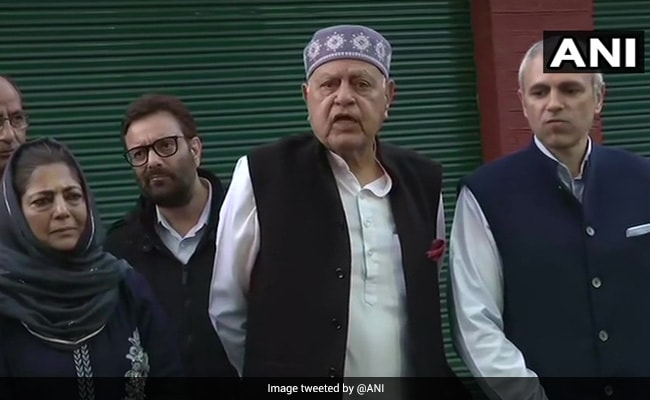 Farooq Abdullah Announces Alliance With Mehbooba Mufti In J&K