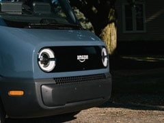 Amazon Partners With Rivian For Electric Delivery Vans