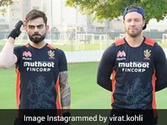 "Virat Kohli's Pic With AB de Villiers, RCB Teammates Takes Him Back To ""School Days"""