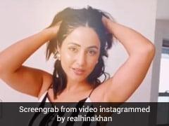 हिना खान ने पोल्का डॉट ड्रेस में यूं झूमकर किया डांस, ग्लैमरस Video ने मचाया धमाल