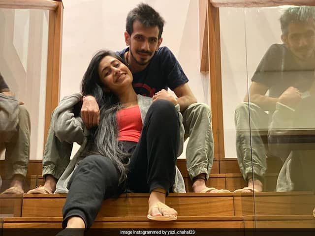 Yuzvendra Chahals Caption For Pic With Fiancee Dhanashree Verma Wins The Internet