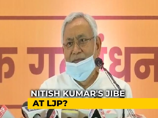 Video : Bihar BJP's Clarification On Nitish Kumar And A Message For Chirag Paswan