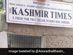"Leaders Criticise Sealing Of ""Kashmir Times"" Office In Srinagar"