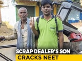 Video : Scrap Dealer's Son Clears Medical Entrance Test In Ninth Attempt