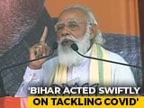 "Video : ""If Nitish Kumar Government Had Not Acted Fast..."": PM On Covid In Bihar"