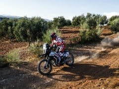 2020 Andalucia Rally: Hero MotoSports' Buhler & Santosh Gain Positions At The End Of Stage 2