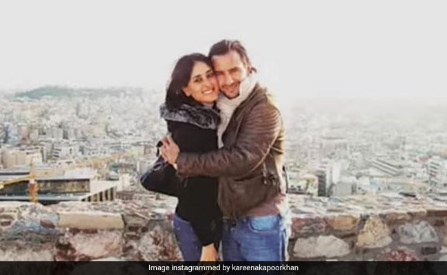 Kareena Kapoor And Saif Ali Khan's Loved Up Pic From Greece. Circa 2008