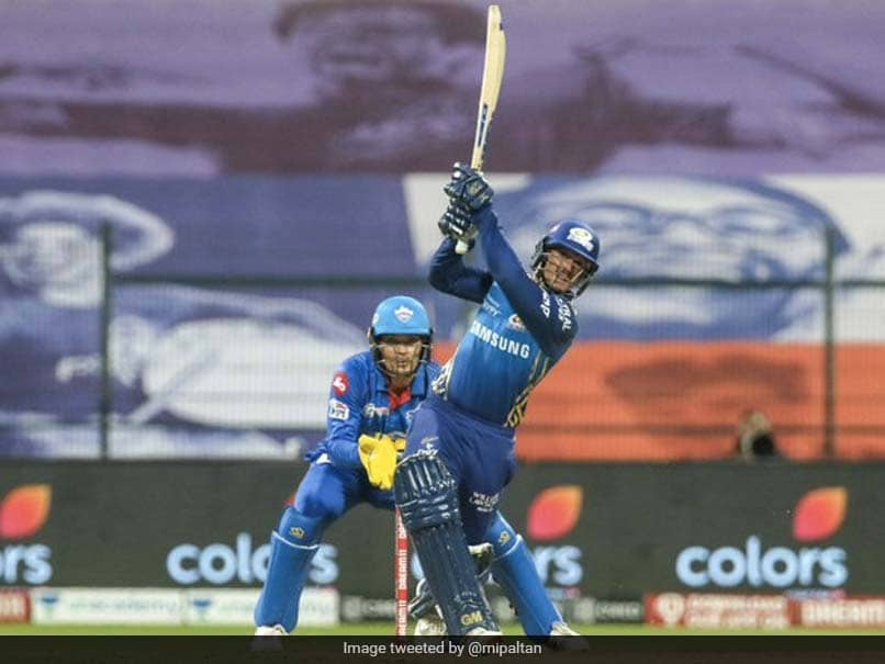IPL 2020, MI vs DC: Quinton De Kock Says He Is Not Brave Enough To Play Shots Like Suryakumar Yadav