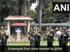 ITBP के जवानों ने बैंड पर 'रघुपति राघव राजा राम' की धुन से महात्मा गांधी को दी श्रद्धांजलि, देखें Video
