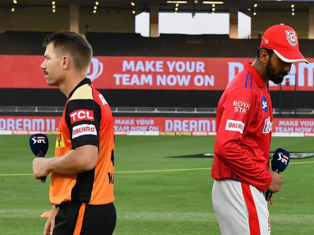 IPL 2020 Live: KXIP, SRH Face Off In Must-Win Clash