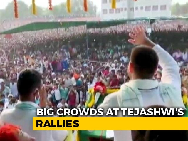Video: What BJP Says On Huge Crowds At Tejashwi Yadav's Rallies