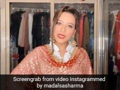 मिथुन चक्रवर्ती की बहू मदालसा शर्मा ने बताया- 'रसोड़े में कौन था'...देखें वायरल Video