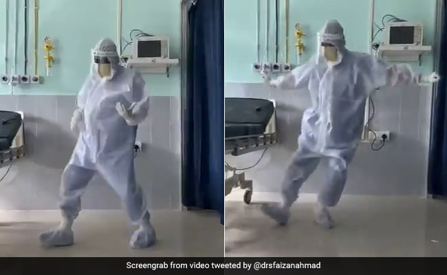 Video: Assam Doctor Dances To 'Ghungroo' To Cheer Up Covid Patients