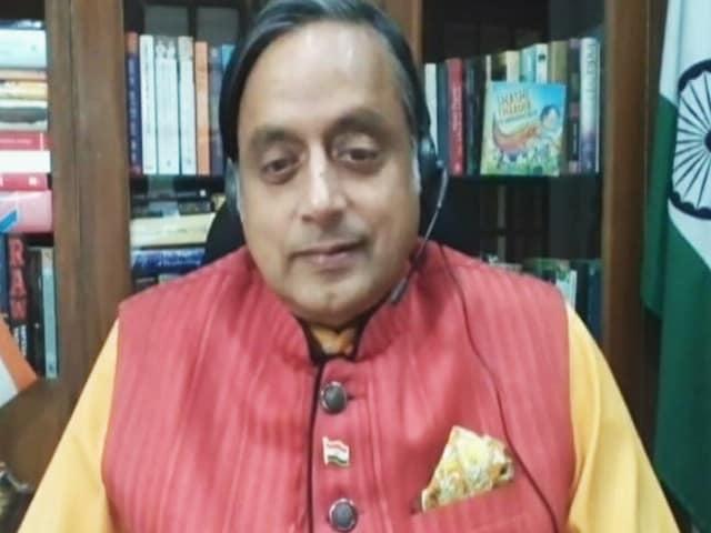 """Video : """"Dismay"""": Shashi Tharoor Describes Socio-Political Climate In India"""